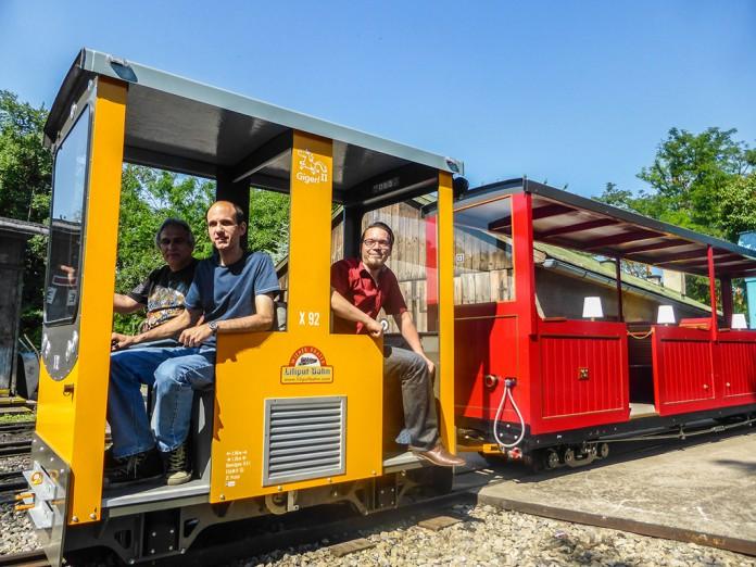 Würth und die Liliputbahn im Wiener Prater