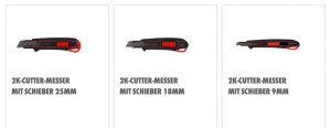 2K Cuttermesser