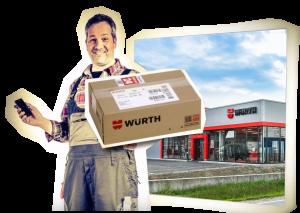 Niederlassungs-Finder Würth App