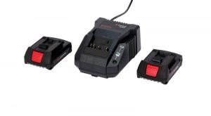 Power Pack LI-CV 18 V mit Ladegeraet und 2 x Akkus