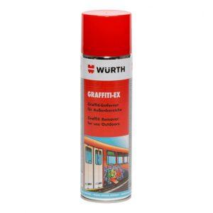 Mit Würth Graffiti Ex einfach und sauber Graffiti entfernen