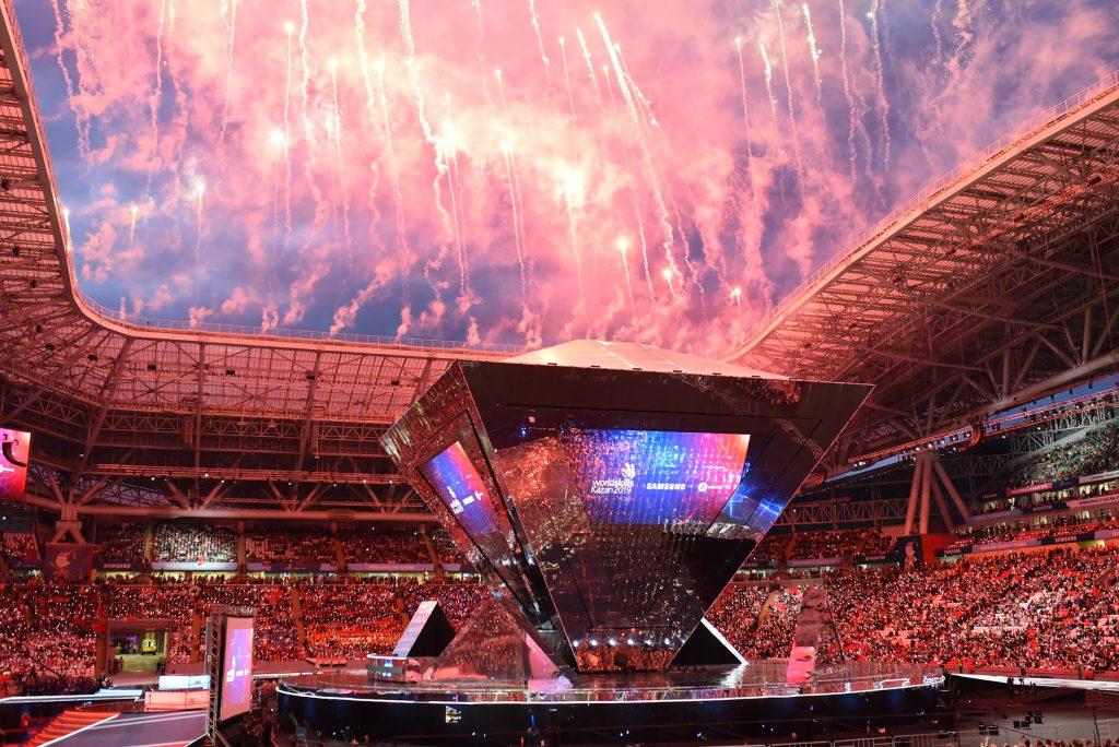 Ein Feuerwerk an Emotionen bei der Siegerehrung in Kazan. Fotos: ©WKÖ/SkillsAustria/Laresser