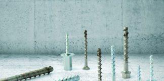 Höchste Traglasten und geringe Achs- und Randabstände – sowohl Stahl verzinkt als auch nichtrostender Stahl A4.