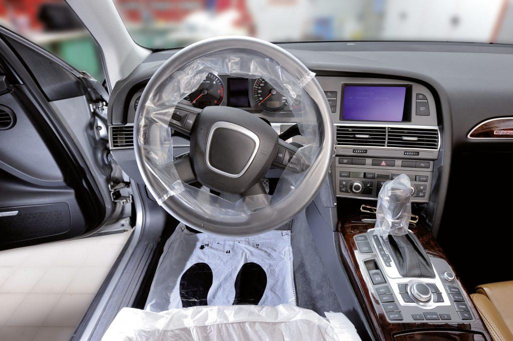 Schutzfolien für das Fahrzeug
