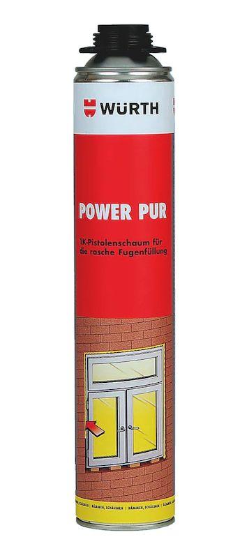 Würth Power PUR dämmt, füllt und dichtet